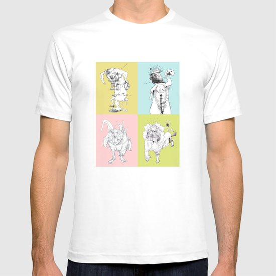 4 Little Animals T-shirt