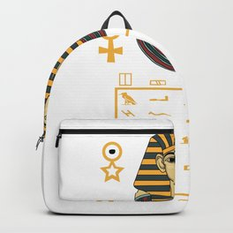Pharaoh Egypt Pyramids Sphinx sign gift Backpack