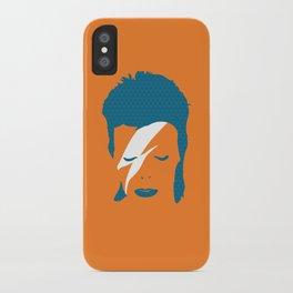 Ziggy Stardust - Orange iPhone Case