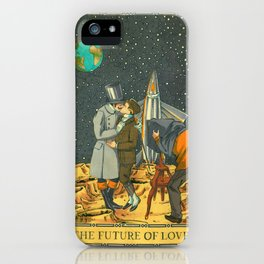 The Future of Love 2 iPhone Case
