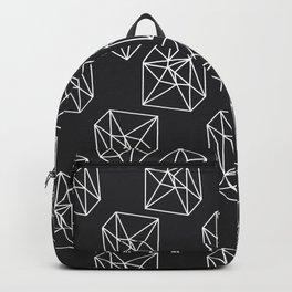Almost Geometric Jewels Pattern #black Backpack