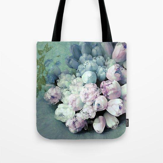 Tulips Antique Tote Bag
