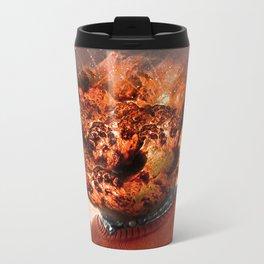 CONFUSED Metal Travel Mug