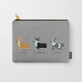 corgi, siborgi, and cybogi Carry-All Pouch