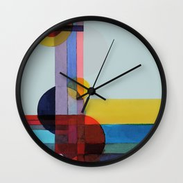 expo 68 (turquoise) Wall Clock
