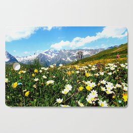 Summer in the Alps Cutting Board