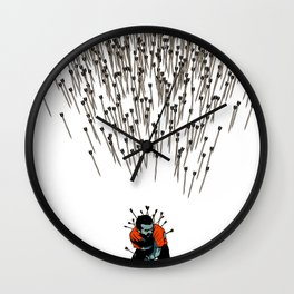 Stop Wasting Arrows And Aim For Its Head, You Damn Fools! V2 Wall Clock