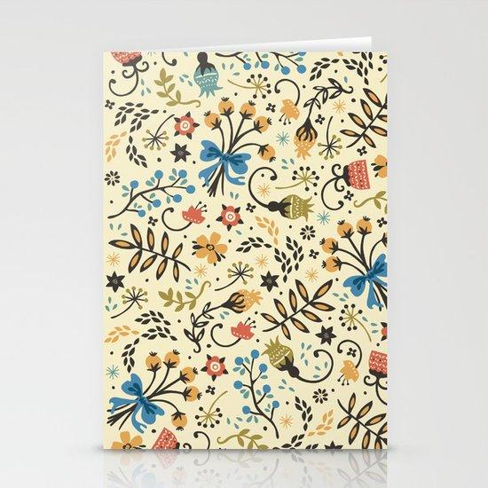 Floral Bloom Stationery Cards