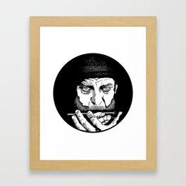 ·the harmonica Framed Art Print