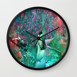 Fairy Tale Dream Wall Clock