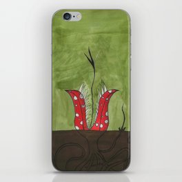 Flowers in the ground iPhone Skin