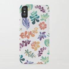 summertime succulents Slim Case iPhone X