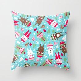 Santa Baby Throw Pillow