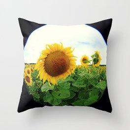 Sunflower 14 Throw Pillow