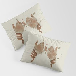 Red String of fate Pillow Sham