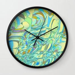 Abstract Energy 3 Wall Clock