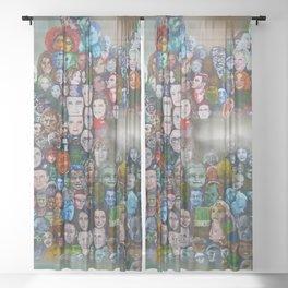 The Times' Art Capsule (News) Sheer Curtain