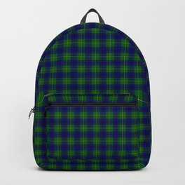 Johnston Tartan Plaid Backpack