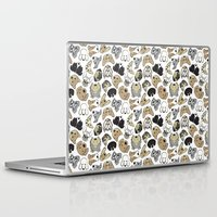 dogs Laptop & iPad Skins featuring dogs by AnaAna