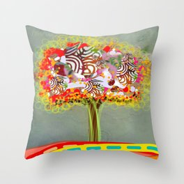 Wonder Tree Throw Pillow