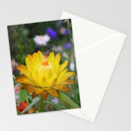 Everlasting Flower Stationery Cards
