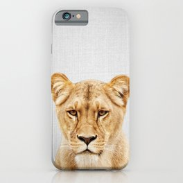 Lioness - Colorful iPhone Case