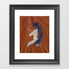 Maximum Rhythm (Homage to Dee Jay) Framed Art Print