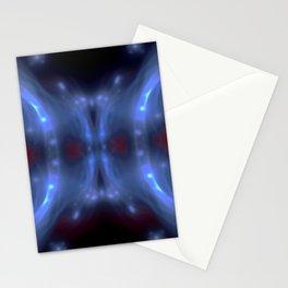 Lightning carnival mask ... Stationery Cards