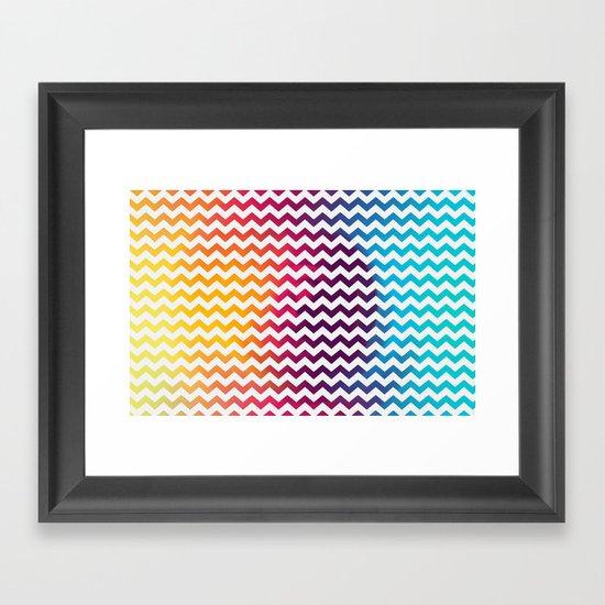 Rainbow Zoon Framed Art Print