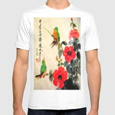 courting season Mens Fitted Tee MEDIUM White