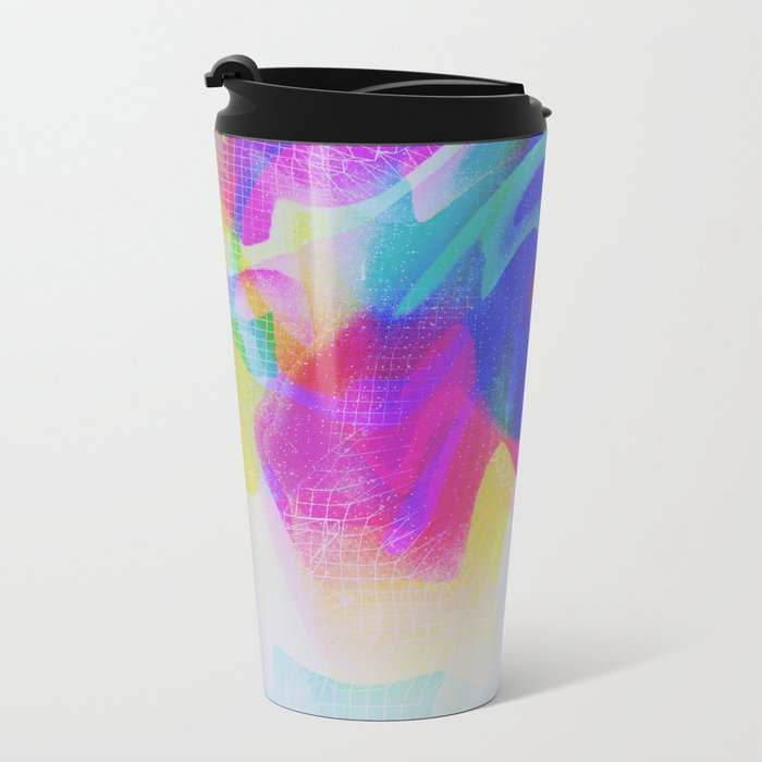 Glitch 28 Metal Travel Mug