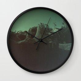 Giant Alien Spiders Wall Clock