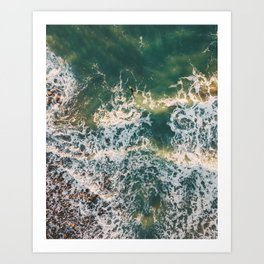 Paddle out, 2018 Art Print