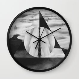 The Tale of Three Brothers - Deathly Hallows Wall Clock
