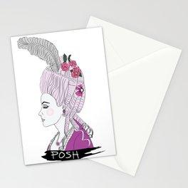 Posh Marie Antoinette Stationery Cards