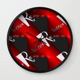 R - pattern again, 1 Wall Clock