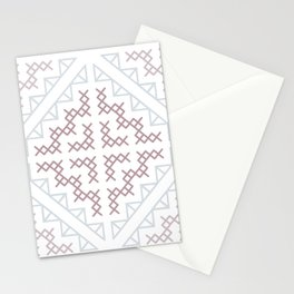 Tribal Hmong Embroidery Stationery Cards