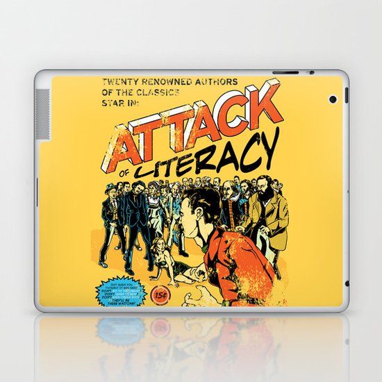 Attack of Literacy Laptop & iPad Skin