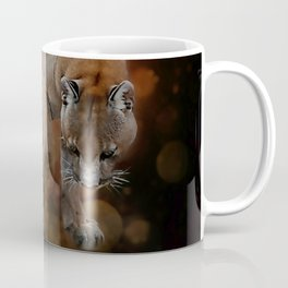 A Mountain lion's decent Coffee Mug