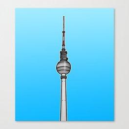 TV-Tower Berlin Canvas Print