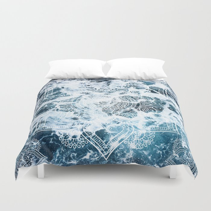 cover mandala covers cadinera heart product my by wild duvet ocean