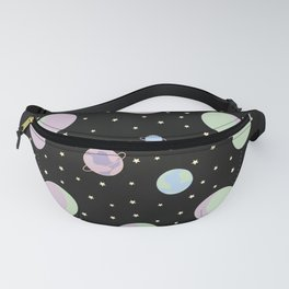 And You? - Moon Phases Illustration Fanny Pack