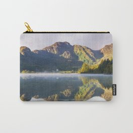 Misty Dawn Lake Carry-All Pouch