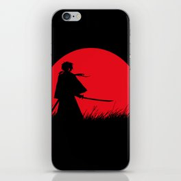 Samurai X iPhone Skin