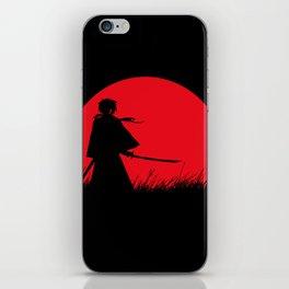 Samurai X iPhone Skin