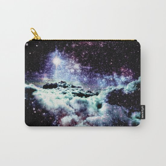 Pastel Galaxy Clouds Carry-All Pouch