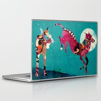 dogs Laptop & iPad Skins featuring dogs by Alvaro Tapia Hidalgo