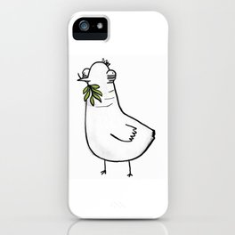 Knock-off Dove iPhone Case
