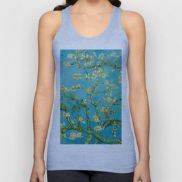 Almond Blossoms Painting by Vincent van Gogh Oil Painting Unisex Tank Top