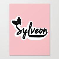 sylveon Canvas Prints featuring Sylveon by Papa-Paparazzi